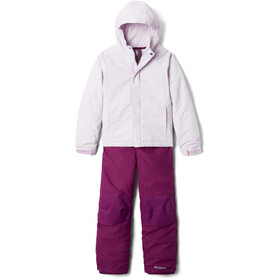Columbia Buga Set Youth, pale lilac sparklers print/pale lilac